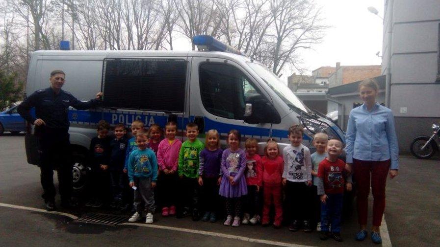 Wycieczka do Komendy Powiatowej Policji w Krotoszynie