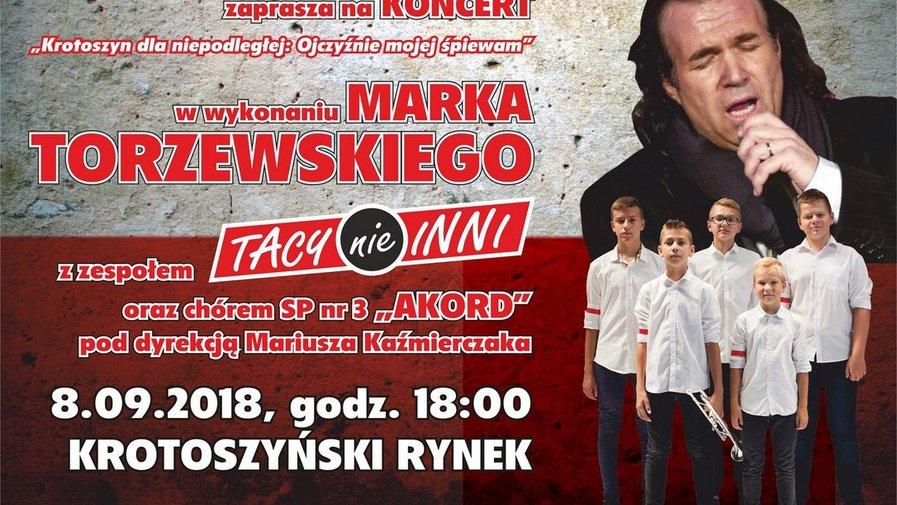 """Zaproszenie na koncert """"Krotoszyn dla niepodległej"""""""