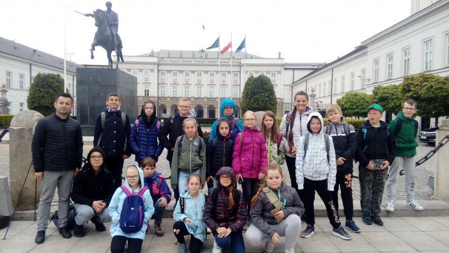 Vb i Vc na wycieczce w stolicy