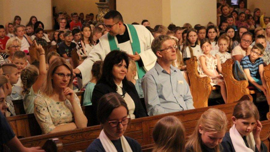 Msza święta z okazji zakończenia roku szkolnego 2018/2019