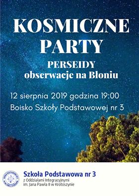 kosmiczne party