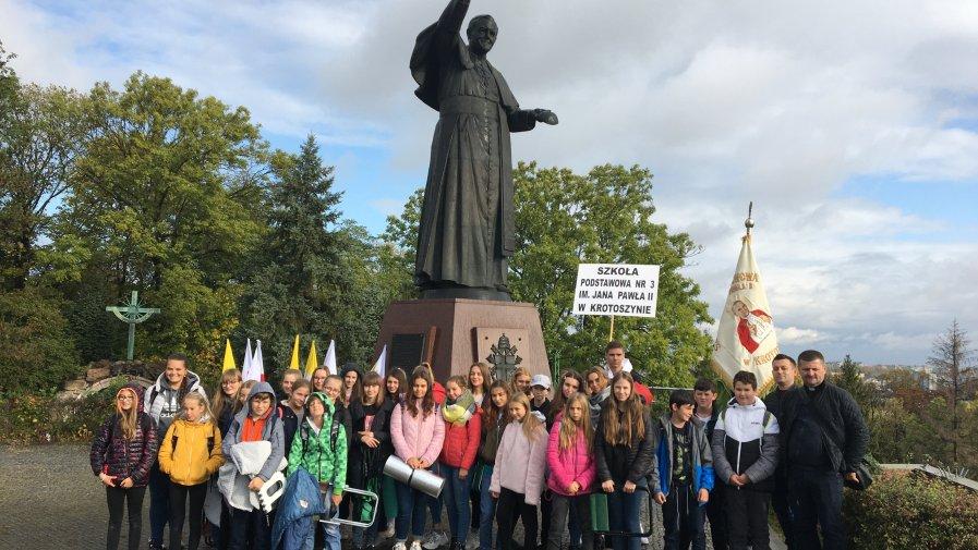 XIX pielgrzymka Rodziny Szkół im. Jana Pawła II w Częstochowie