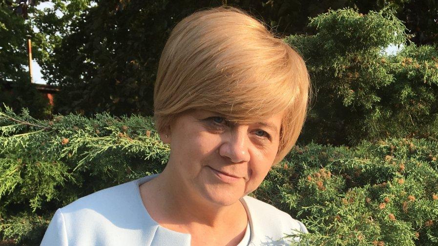 Pani Iwona Ptak - nauczycielka Szkoły Podstawowej nr 3 z Oddziałami Integracyjnymi im. Jana Pawła II w Krotoszynie